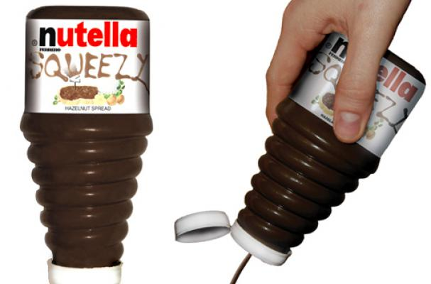 Nutella Squeeze Bottle