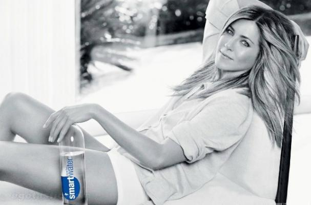 Jennifer Aniston in Smart Water ads