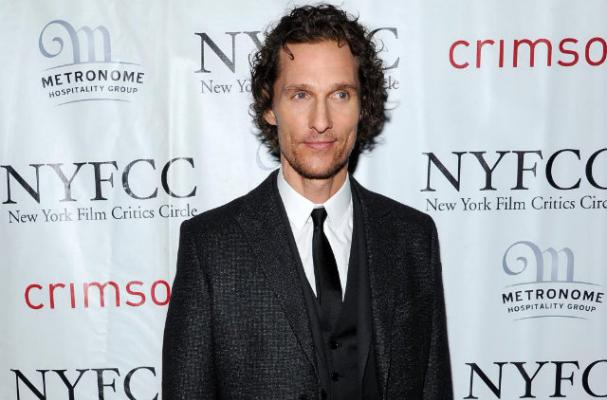 Matthew McConaughey Eats First Burger After Extreme Weight Loss