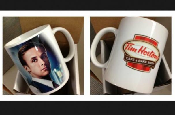 Tim Horton's Offers Limited-Edition Ryan Gosling Coffee Mug