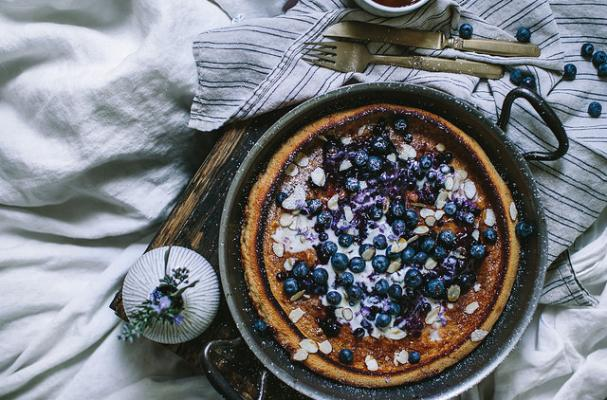 First We Eat Blueberry Dutch Baby