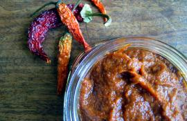 Homemade Harissa Paste