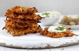 Sweet and Savory Mini Latkes